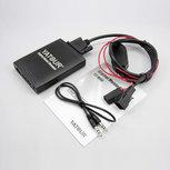 Bmw 3 + 6 pin Yatour Usb, Sd card en aux ingang Mp3 interface 16:9 Navigatie