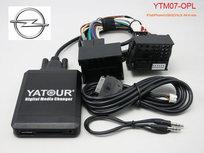 Yatour Usb, Sd card en aux ingang Mp3 interface Opel CD 30 MP3 CD 300