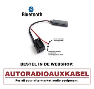 BMW E90 E91 E92 E93 Bluetooth Audio Streaming Adapter Aux Kabel Module Navigatie Professional