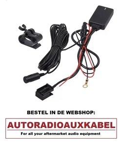 BMW E60 E61 E63 E64 Bluetooth Carkit Bellen Audio Streaming Adapter Aux Kabel Module Navigatie Professional