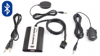 Ford Bluetooth, Carkit, A2DP Streaming, Usb en aux ingang Mp3 interface 12Pin aansluiting