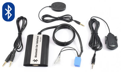 Fiat Bluetooth, Carkit, A2DP Streaming, Usb en aux ingang Mp3 interface 8Pin aansluiting